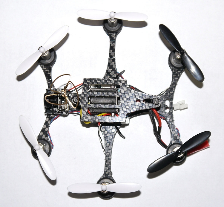 Phoenix Flight Gear 130mm Micro FPV Hexacopter Frame For 7mm Motors ...