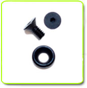 Black Anodized 7075 Countersunk Flat Head Screw Countersunk Flat Washer