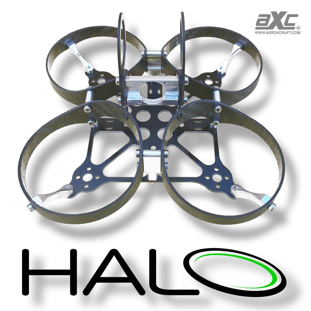 Aeroxcraft AXC Halo Micro FPV Carbon Fiber Ducted Quad Frame