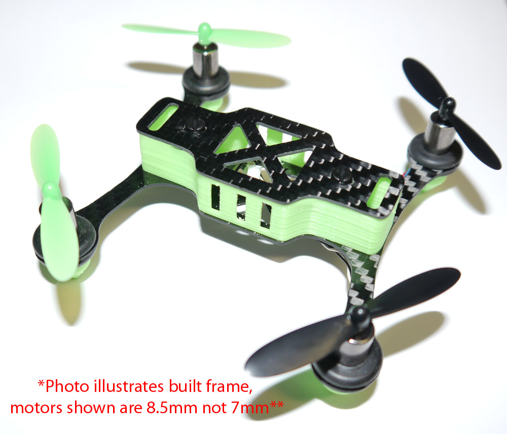 Phoenix Flight Gear Custom Built 110mm Micro-H 7mm Motor Scisky Quad ...