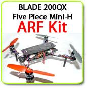 Phoenix Flight Gear Carbon Fiber 200QX Five Piece Mini-H ARF Kit