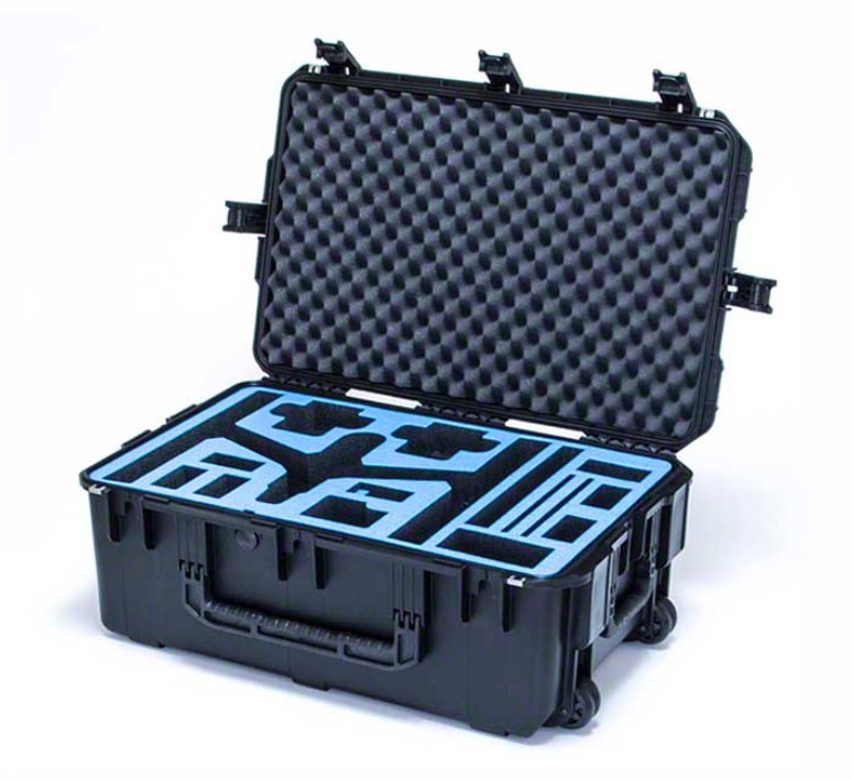 e9b953ee5 Go Professional DJI Inspire 1 & Accessories Wheeled Travel Position ...