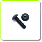 Black Anodized Button Head Screws