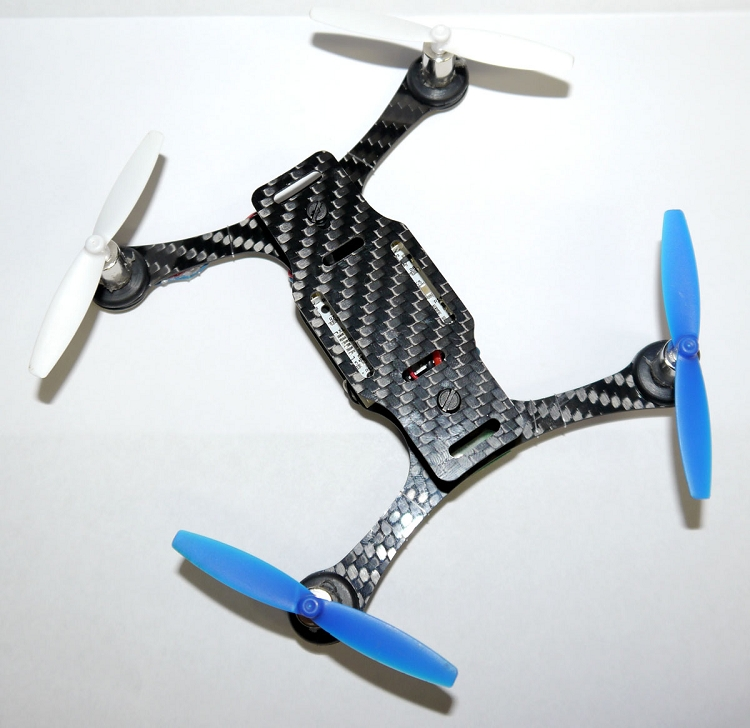 phoenix flight gear 135mm carbon fiber micro h frame 8mm edition