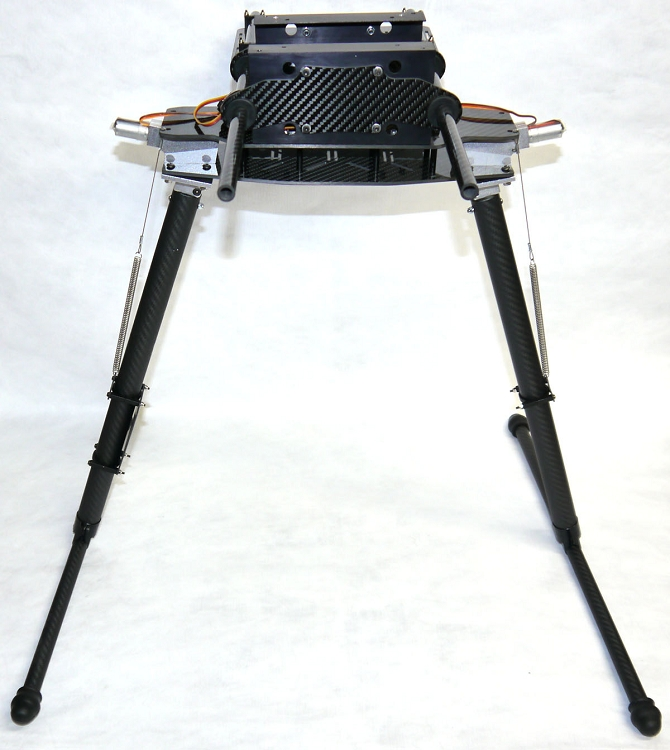 Phoenix Flight Gear CarbonGear Carbon Fiber Large Retractable Landing Gear  w/Retract Motors