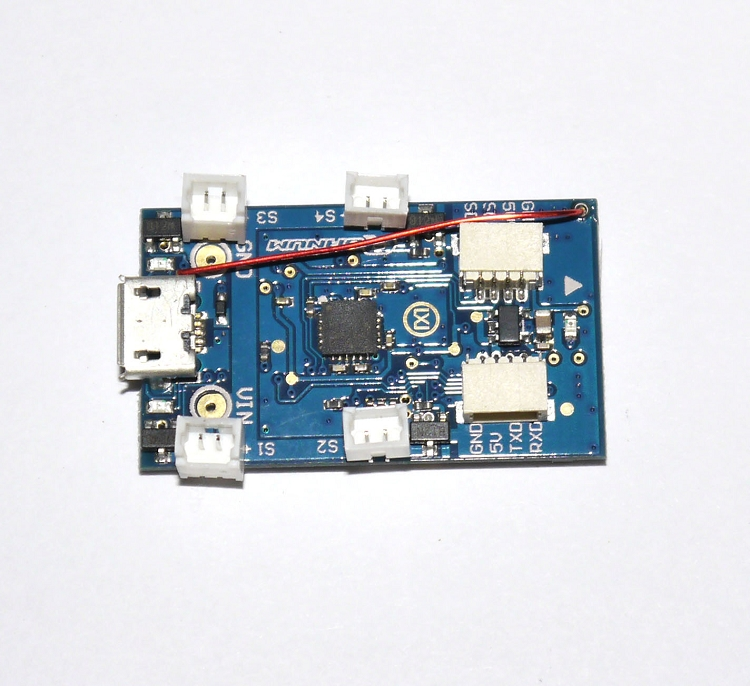 quanum sciskyFC pico micro scisky 32bit brushed flight control board w motor plugs  at sewacar.co
