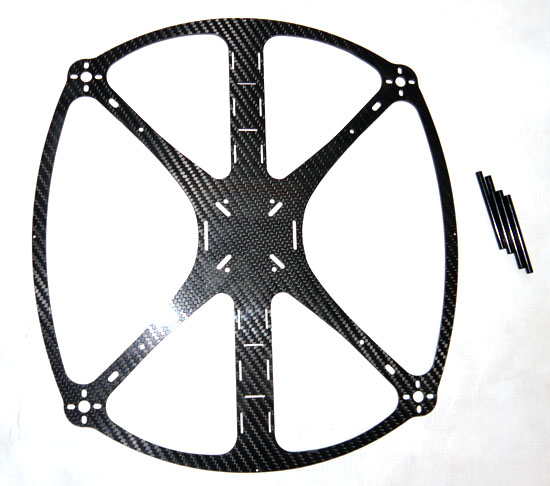 phoenix flight gear 328 flight ring carbon fiber quadcopter frame
