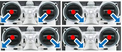 Motor arm/disarm mode