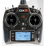 Spektrum DX9 Transmitter Only Mode 1-4 in MD2 Config