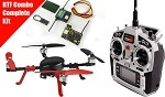 Rc Logger EYE One Xtreme Brushless Quadcopter RTF Edition w/Spektrum DX8 & Lemon FC