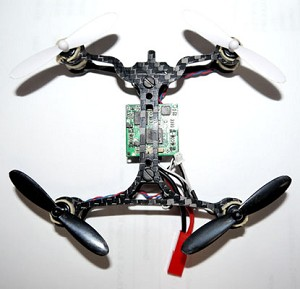 Phoenix Flight Gear 110mm Carbon Fiber FPV Racing Bind-N-Fly Quadcopter Extreme Edition