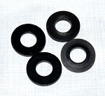 Phoenix Flight Gear 200QX Black Plastic Spacers (Set of 4)