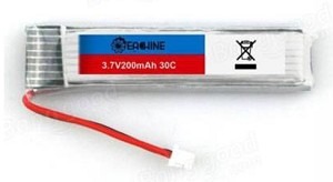 Eachine 3.7V 200mah 30C 1S Lipo Upgrade Battery for Blade Inductrix Tiny Whoop RC Quadcopter