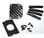 Phoenix Flight Gear CarbonSpyder 470mm / 330mm Board Camera Mount Plate
