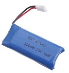 3.7v 1S 500mAh 25c Lipo Battery For Micros