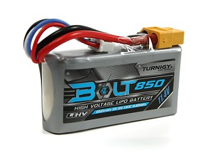 Turnigy Bolt 850mAh 3S 11.4V 65-130C High Voltage Lipo Battery Pack (LiHV)