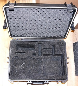 Phoenix Flight Gear RotorX Dual Atom FPV Large Carry/Storage Case(for 2 Atoms)