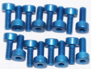 RotorX V2 Atom Anodized Aluminum Motor Screw Set