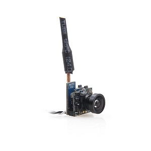 Crazepony FPV Micro AIO Camera 5.8ghz 40CH 25mW Video Transmitter with Y Splitter