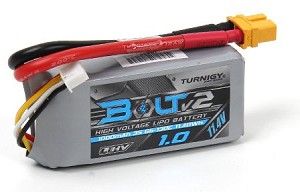 Turnigy Bolt V2 1000mAh 3S 65~130C High Voltage 11.4v Lipo Battery Pack