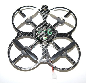 Phoenix Flight Gear Custom Built 90mm Micro-X w/Prop Guards 7mm Motor Walkera Micro Copter Bind-n-Fly