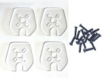 Phoenix Flight Gear Polycarbonate Set of 4 arm guards for RotorX Atom Frame (Set of 4 arm guards w/hardware)