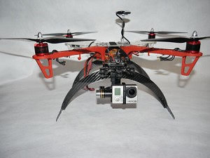 CarbonGear 130mm F450 Carbon Fiber Landing Gear