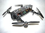 Phoenix Flight Gear Carbon Dragonfly HD 252mm Folding Mini-H FPV ARF Kit