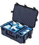Go Professional  DJI Inspire 1 & Accessories Wheeled Travel Position Hard Case