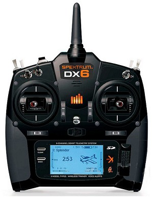 Spektrum DX6 6-Channel DSMX Transmitter (250 model memory)