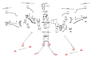 NovaX Landing Gear Parts