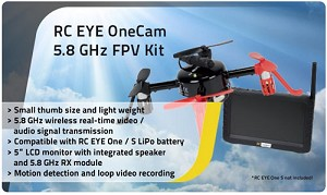 RC EYE OneCam 5.8 GHz FPV Kit