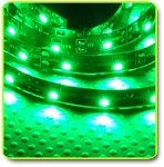 Super Bright LED Flexible 1 Meter Strip Green