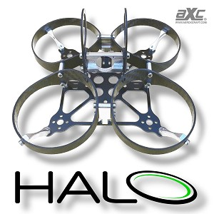 Aeroxcraft  AXC Halo Micro FPV Carbon Fiber Ducted Quad Frame