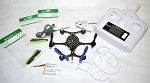 Custom Built 135mm Carbon Fiber Eachine X6 RC Hexacopter With 2MP Camera RTF
