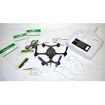 Custom Built 135mm Carbon Fiber Eachine X6 RC Hexacopter With 2MP Camera RTF(Dark Edition)