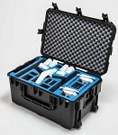 Go Professional case for DJI inspire 1 & accessories wheeled  landing mode hard case