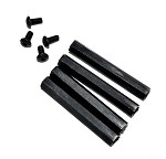 Phoenix Flight Gear 40mm Nylon Landing Gear Legs (40mm Standoffs)