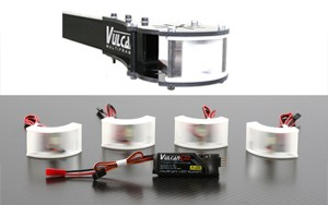 VulcanUAV DayBright Navigation LED System for large motor mounts