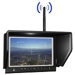 LILLIPUT 664/W 7 INCH LCD FPV Monitor W/5.8 GhZ 7 CH RX -for Fat Shark