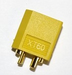 Male XT60 Connector For Device End (Genuine)