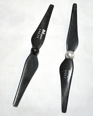 "Maytech (MT-CP8443Q) Self Tightening Carbon Fiber 8.4"" X 4.3 Props"
