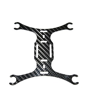 Phoenix Flight Gear 135mm Carbon Fiber Micro-H Frame 7mm Edition Frame ONLY