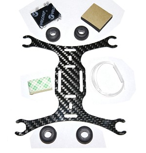 Phoenix Flight Gear 135mm Carbon Fiber Micro-H Frame 7mm Edition
