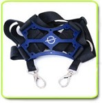 Secraft Transmitter Tray Double Neck Strap BLUE
