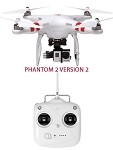 DJI PHANTOM 2 WITH H3-3D version 2.0 NEW Motor/Remote/Compass for GoPro Hero3/4