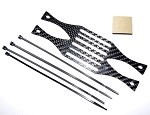Phoenix Flight Gear PhantoMounts Phantom 3(P3) Carbon Fiber GimbalGuard