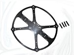 Phoenix Flight Gear 242 Flight Ring Carbon Fiber Quadcopter Frame