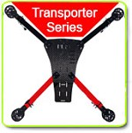 Phoenix Flight Gear Transporter 725mm Spyder Quad / X8 Multicopter Frame