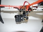 PhantoMounts Belt Drive Sony Action Cam Gimbal for the DJI F450 FlameWheel